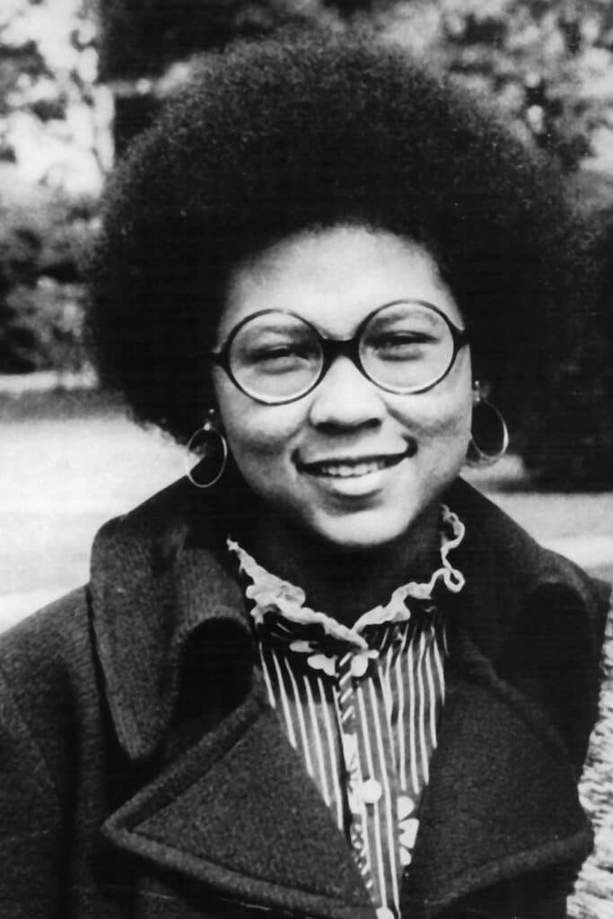 bell hooks from the cover of her book, Feminism is for Everybody.