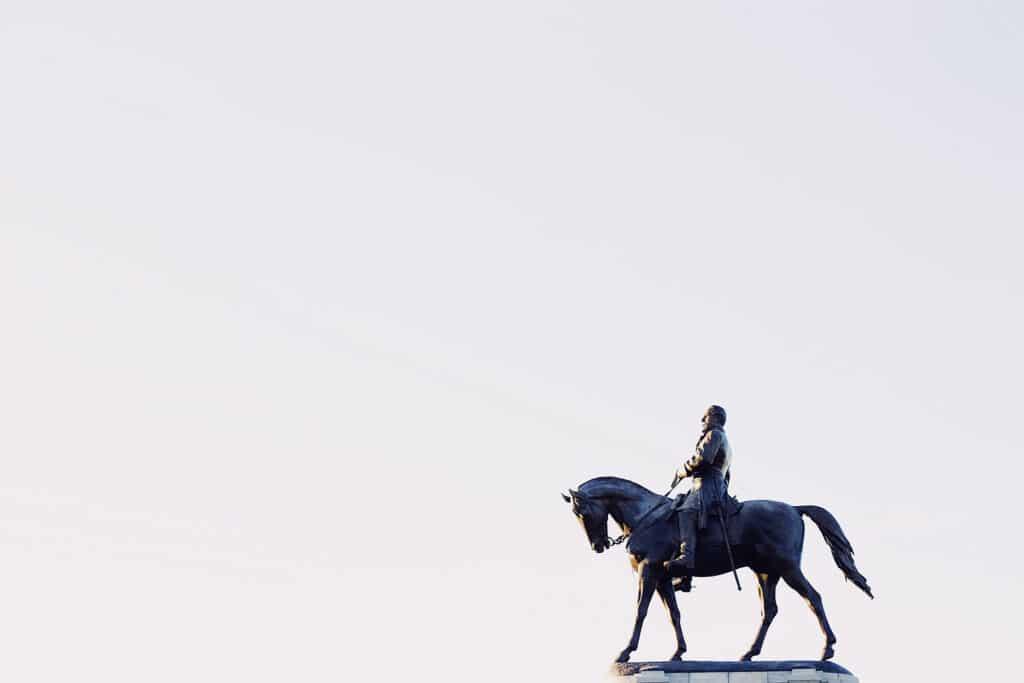 confederate statue leadership