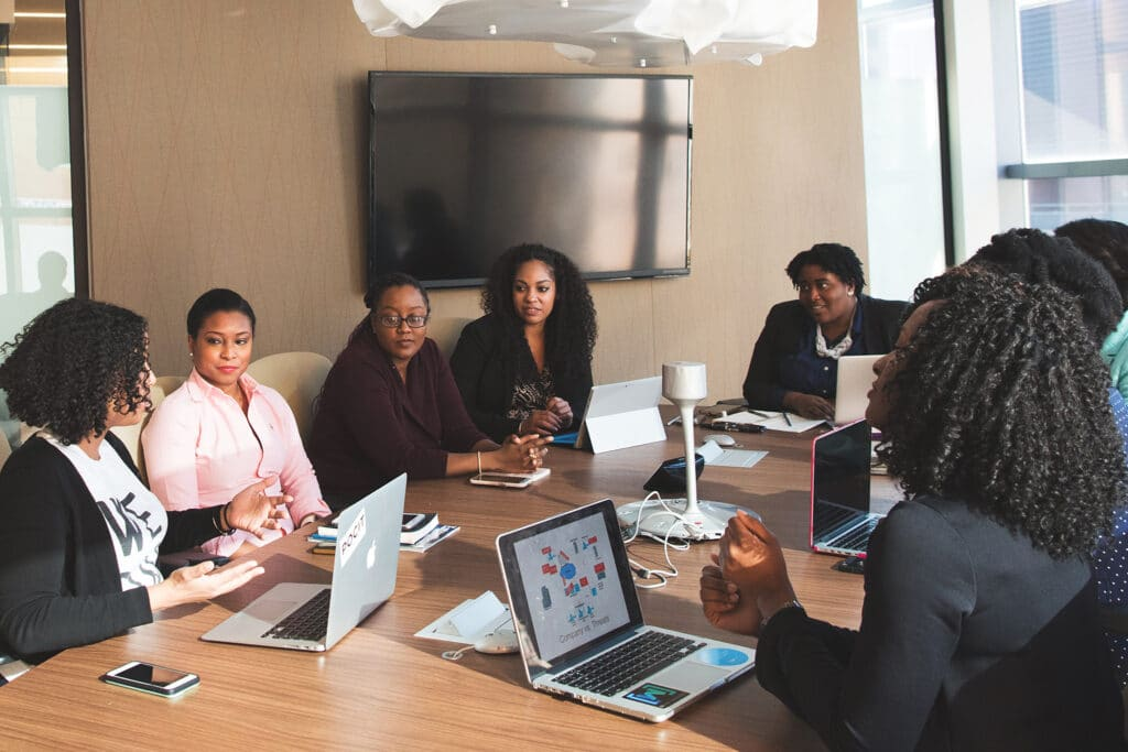 intersectionality in the workplace meeting