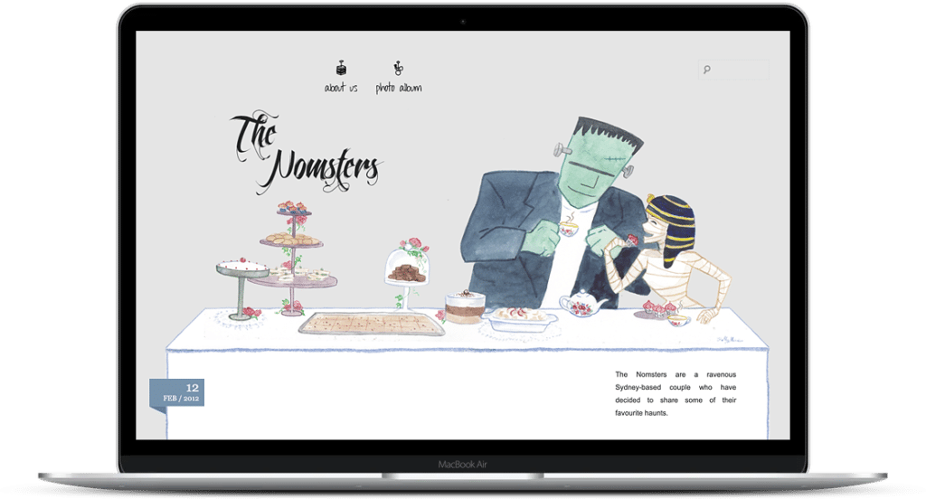 the nomsters blog