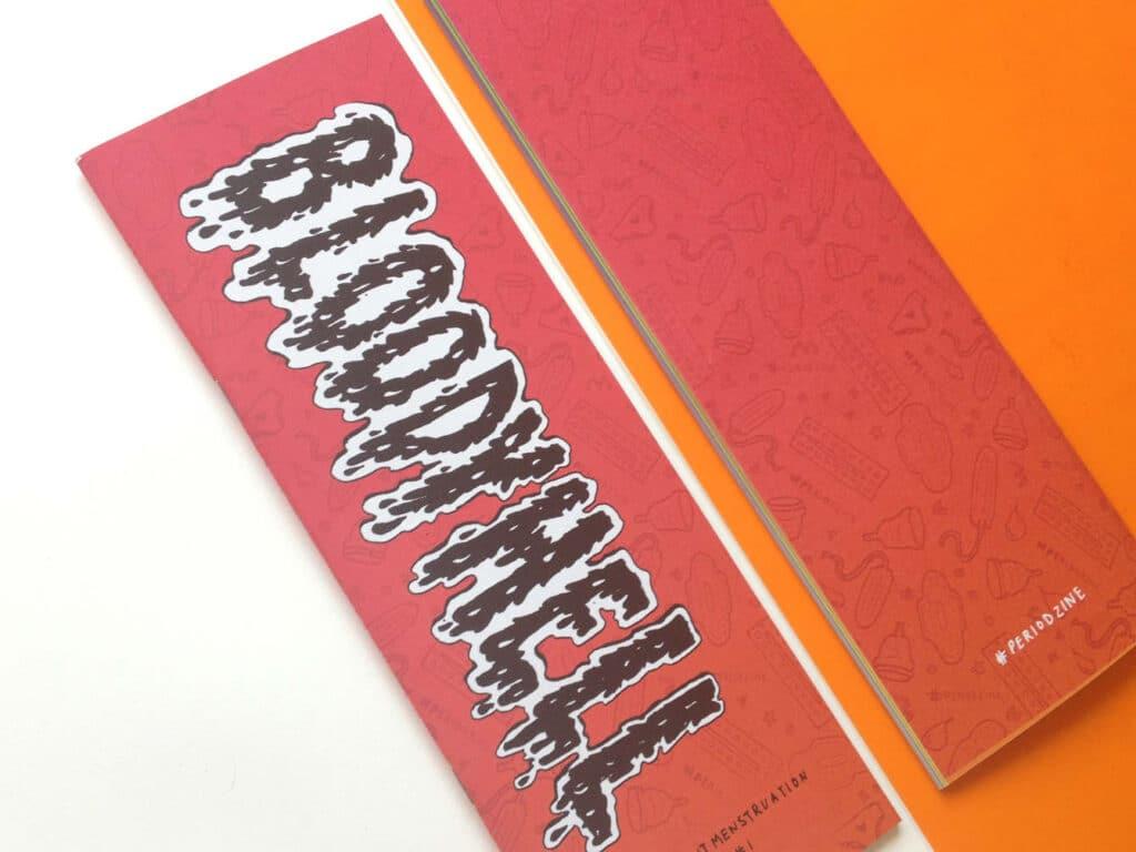 Bloody Hell feminist zine created by Soofiya.