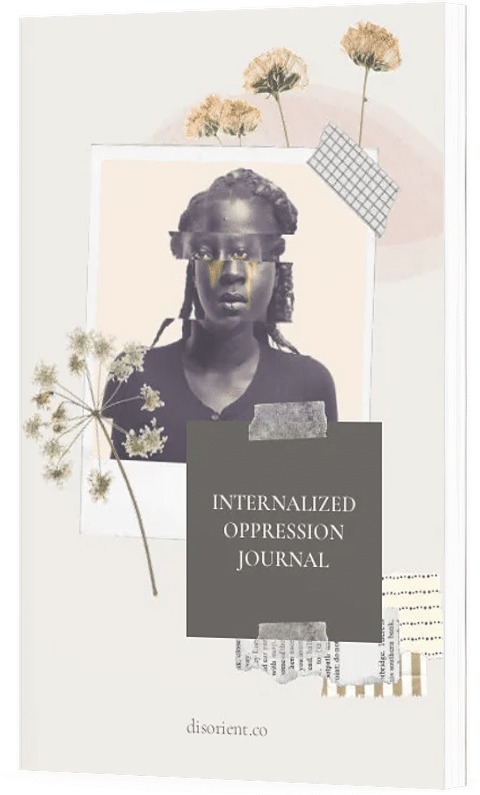 Cover of the internalized oppression journal