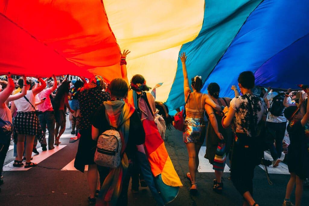 lgbtq march gay pride