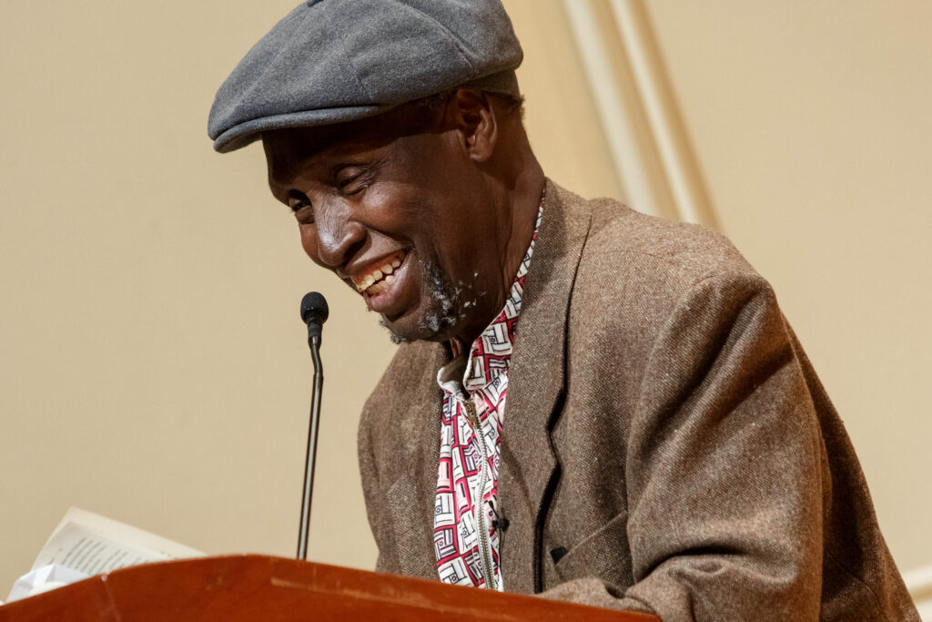 Ngũgĩ wa Thiong'o is a Kenyan anti-colonial writer who has theorized and promoted the importance of decolonizing your mind, which is the first step to support BLM without money or protesting