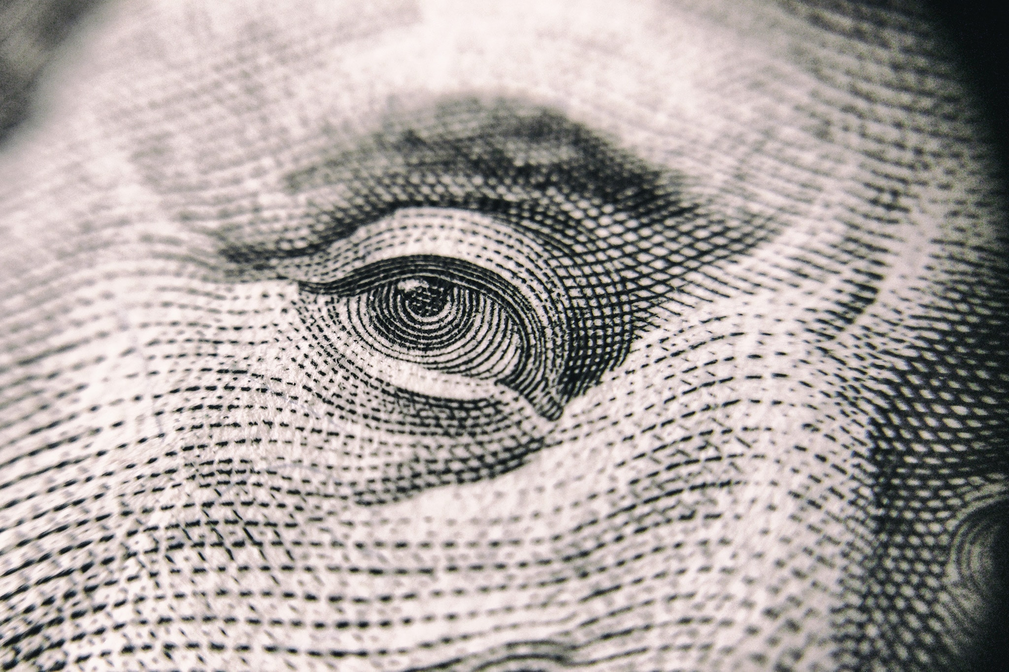 Super close up of American bank note representing Wayfinders scholarships available